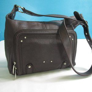 Stone & Company Brown Leather Shoulder Bag